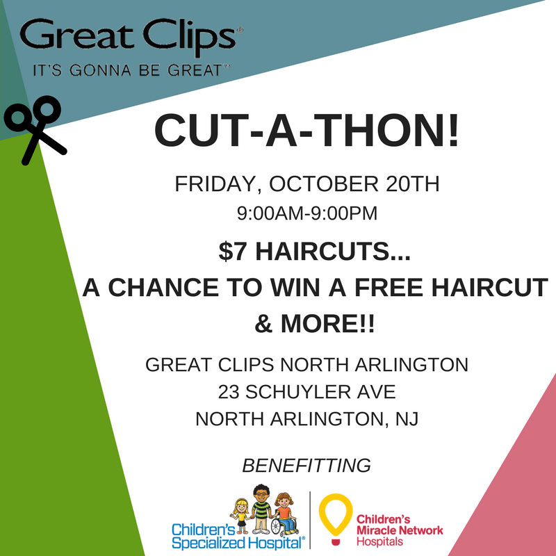 Great Clips Cut A Thon Childrens Specialized Hospital